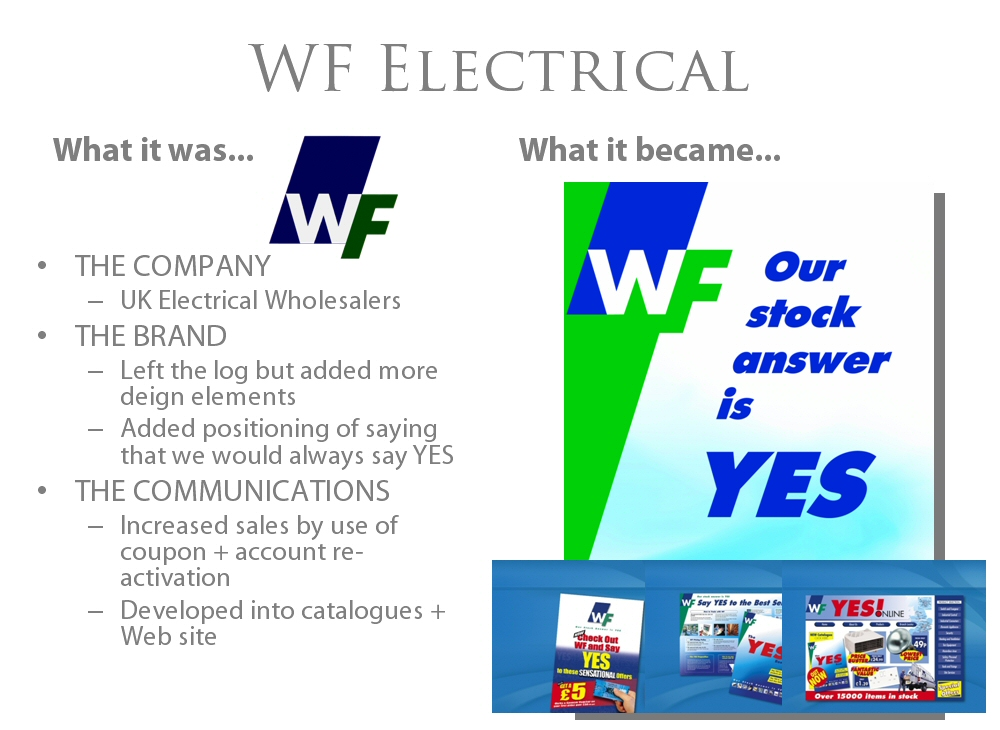 WF Electrical Branding